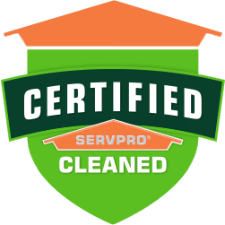 Certified SERVPRO Clean Badge